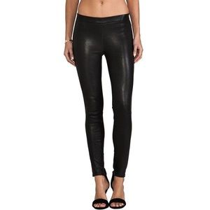 J Brand Pants - lambskin leather pants